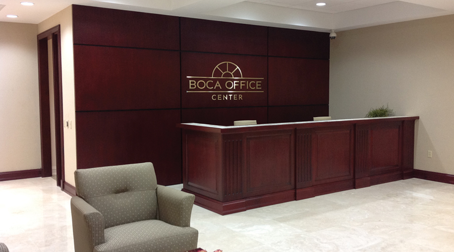 Boca Office Center - Take pride in your office